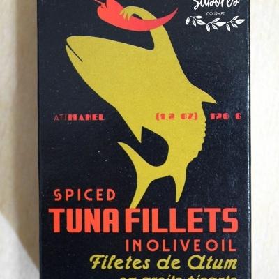 Filetes de Atum em Azeite Picante AtiManel