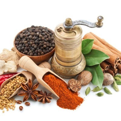 Aromáticas, Sal, Vinagre, Azeite, Condimentos e Temperos