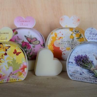 Sabonete (caixa c/ 3 sabonetes) English Soap ref.956 - Artigo Sortido