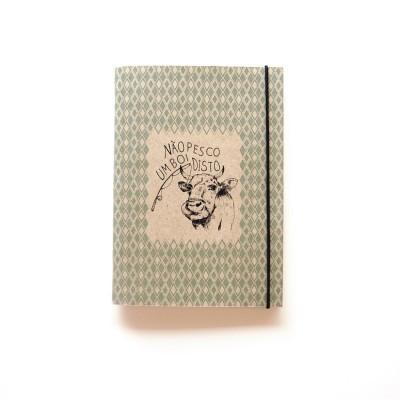 """Caderno Pequeno """"Não pesco um boi disto"""""""