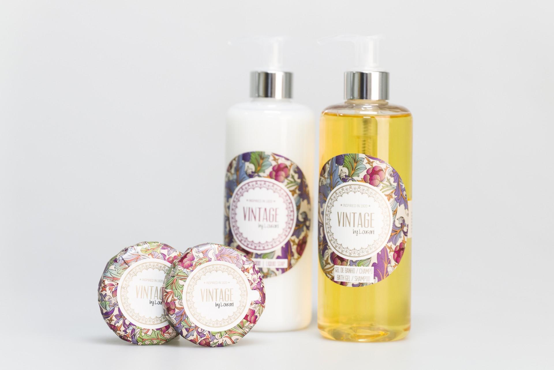 Doseador gel banho/shampoo 300 ml Vintage