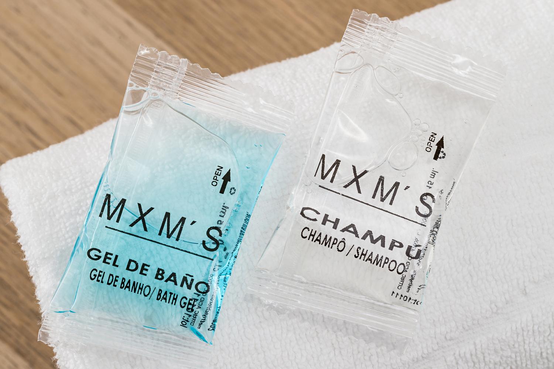 Champo e Gel de banho 30 ml M X M'S 100 unidades