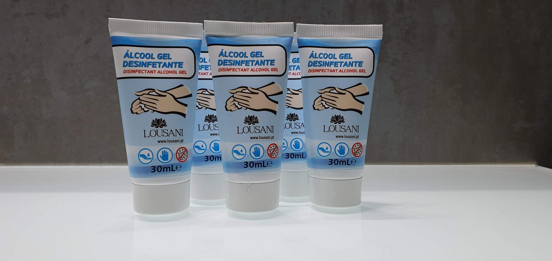 Desinfetante Alcool Gel 30 ml
