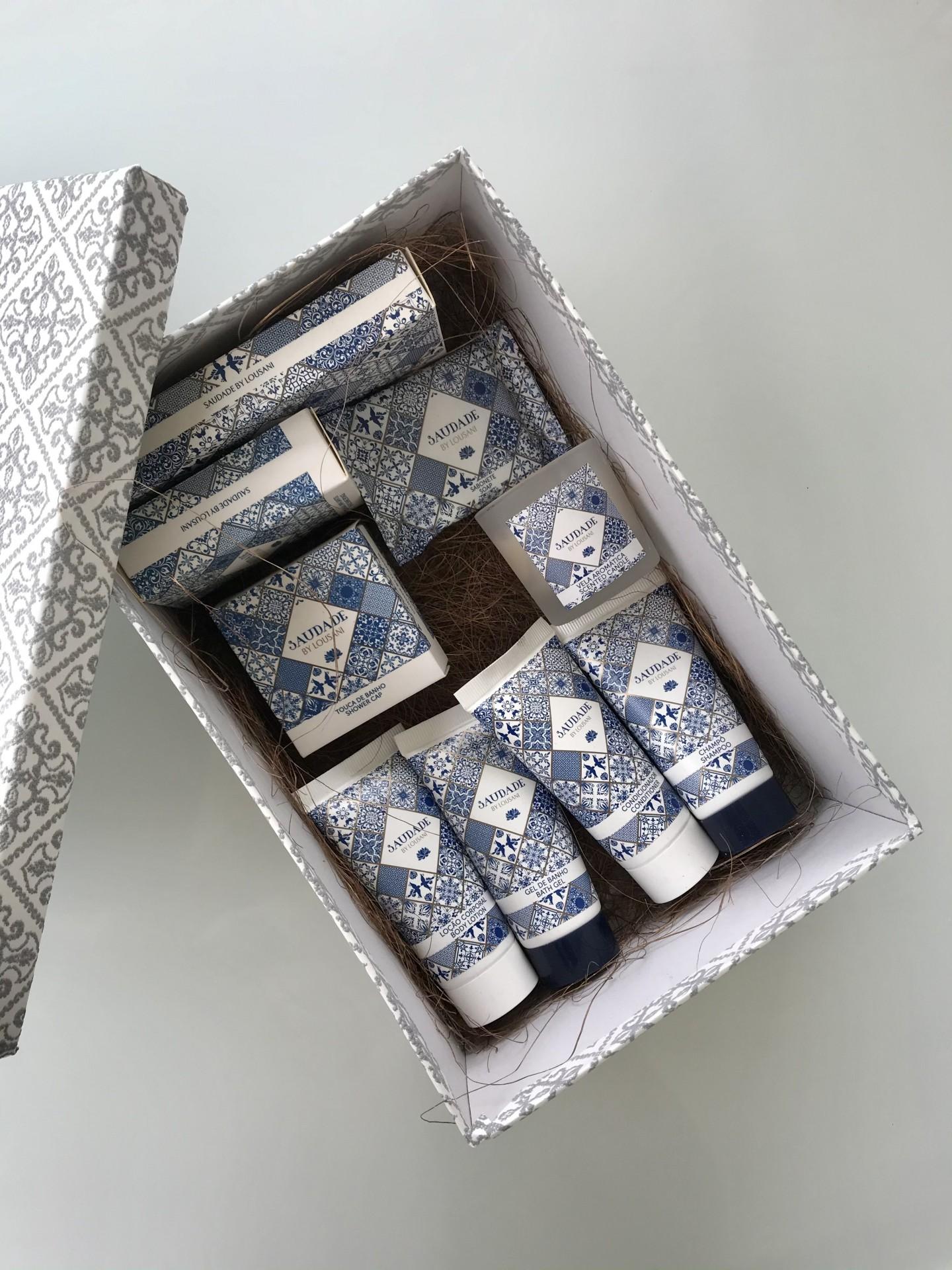 Conjunto Saudade em Caixa