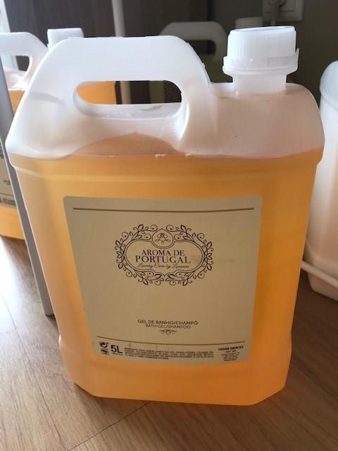 Recarga Champo/gel Banho 5l Aromas de Portugal