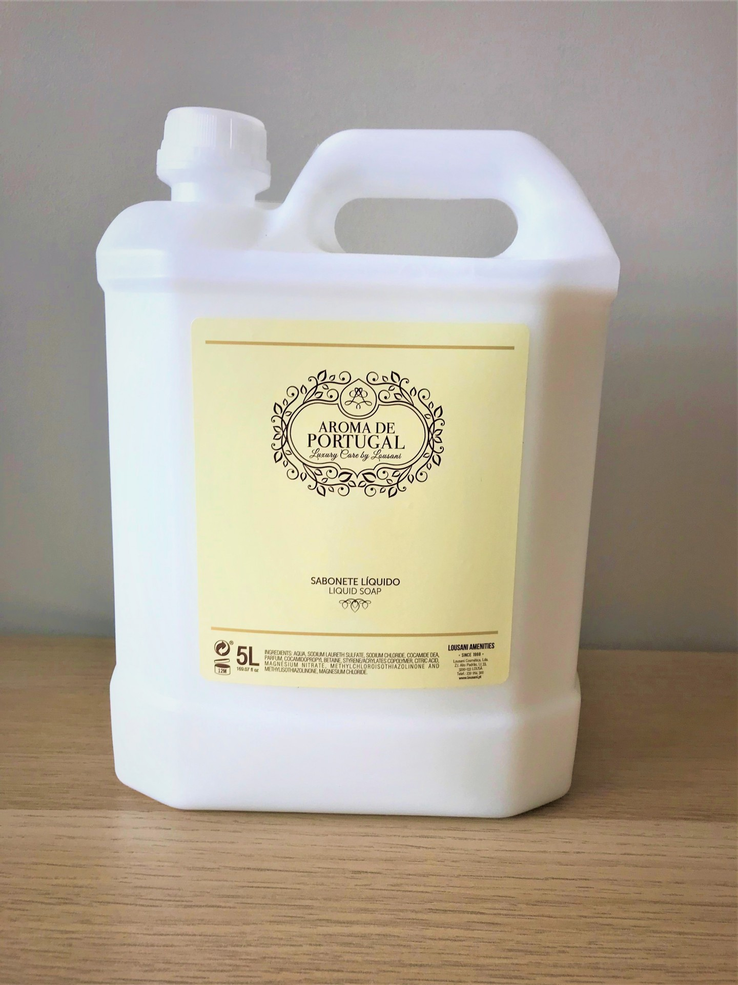 Recarga sabonete liqu 5L Aromas de Portugal