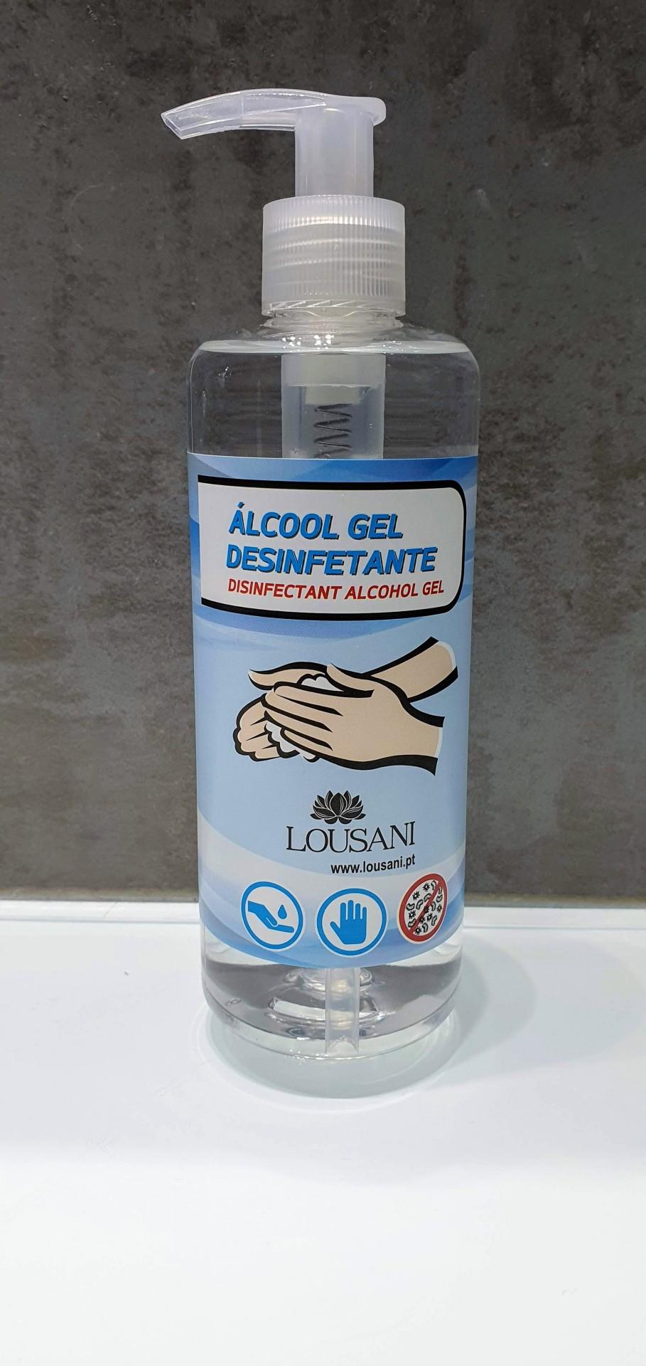 Doseador Desinfetante alcool Gel 300 ml