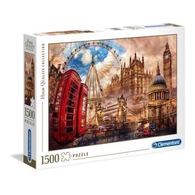 Puzzle High Quality 1500 - Londres Vintage
