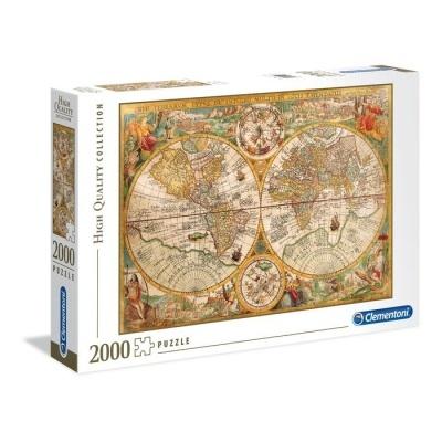 Puzzle High Quality 2000 - Mapa antigo