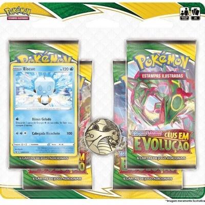 Pokémon TCG: Céus em Evolução Blister Quádruplo: Eiscue (PT)