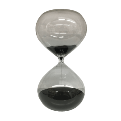 Ampulheta Vidro XL - 60 minutos