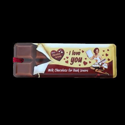 Marcador de livros I love you Chocolate