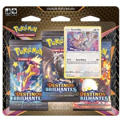 Pokémon TCG: Coleção Festa Maluca de Destinos Brilhantes: Bunnelby (PT)