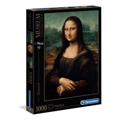Puzzle Museu 1000 - Leonardo da Vinci: Mona Lisa