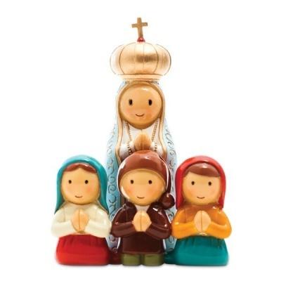 N. Sra. de Fátima e os 3 Pastorinhos