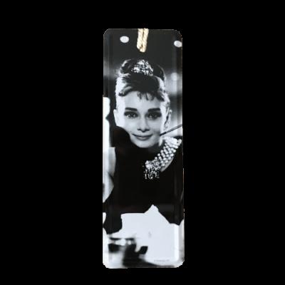 Marcador de livros Audrey Hepburn