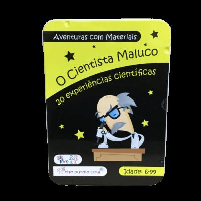 O cientista maluco - Aventuras com materiais