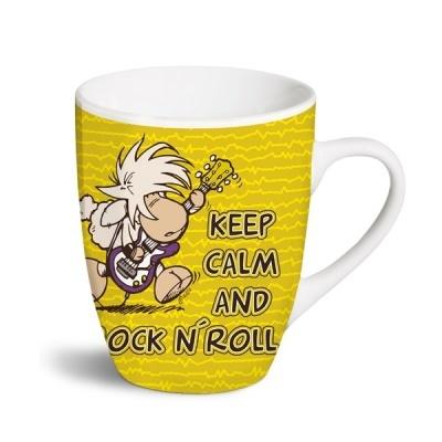 Caneca Keep calm and rock n' roll