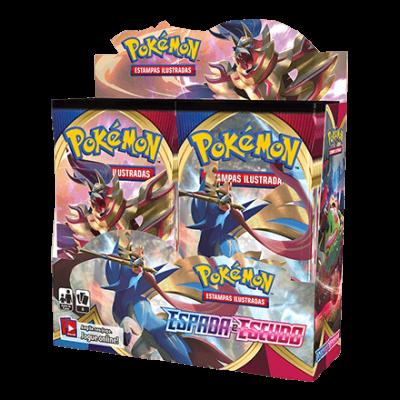 Pokémon Espada e Escudo Booster Display (PT)