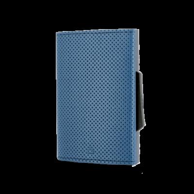 Porta-cartões Ogon Cascade Traforato Azul
