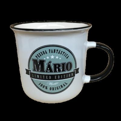 Caneca com nome - Mário