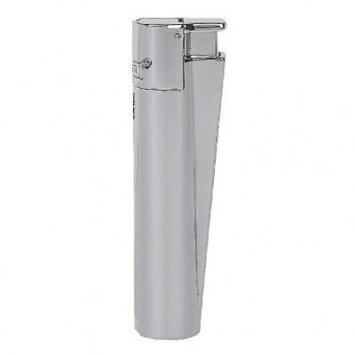 Clipper Metal Jet Flame Silver