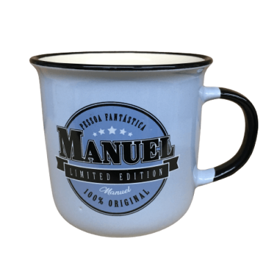 Caneca com nome - Manuel