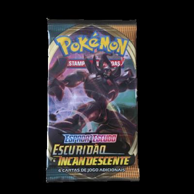 Pokémon Espada e Escudo Escuridão Incandescente Booster