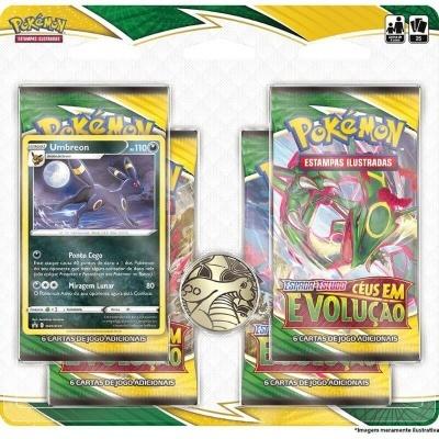 Pokémon TCG: Céus em Evolução Blister Quádruplo: Umbreon (PT)