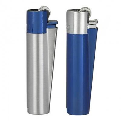 Clipper Metal Azul e Prata