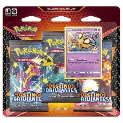 Pokémon TCG: Coleção Festa Maluca de Destinos Brilhantes: Dedenne (PT)