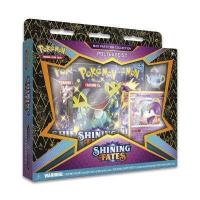 Pokémon TCG: Shining Fates Mad Party Pin Collection (EN)