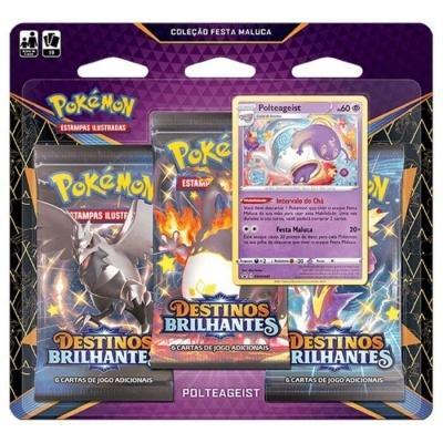 Pokémon TCG: Coleção Festa Maluca de Destinos Brilhantes: Polteageist (PT)