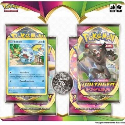 Pokémon TCG: Blister Quádruplo Voltagem Vívida (PT)
