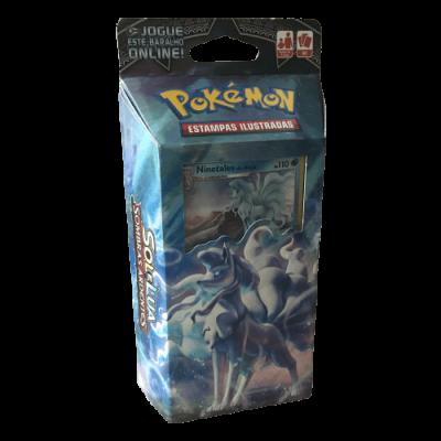 Pokémon Sol e Lua Sombras Ardentes Baralho