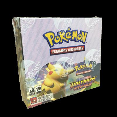 Pokémon TCG: Espada e Escudo Voltagem Vívida Booster Display (PT)