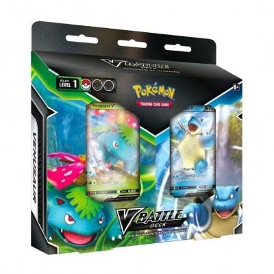 Pokémon TCG: V Battle Deck - Venusaur vs. Blastoise (EN)