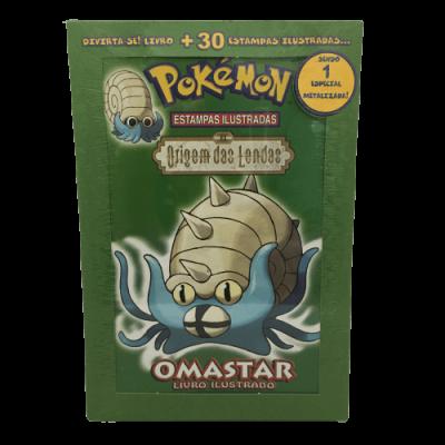 Pokémon Origem das Lendas - Omastar