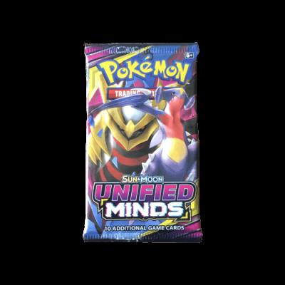 Pokémon Sun & Moon Unified Minds Booster