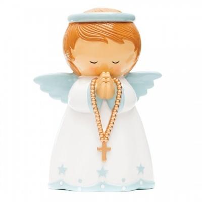 Anjo da Guarda Mealheiro Azul