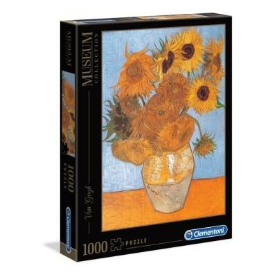 Puzzle Museu 1000 - Van Gogh: Girassóis