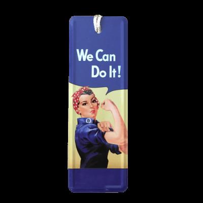 Marcador de livros We Can Do It!