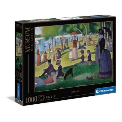 Puzzle Museu 1000 - Seurat: Um domingo à tarde na ilha de la Grande Jatte