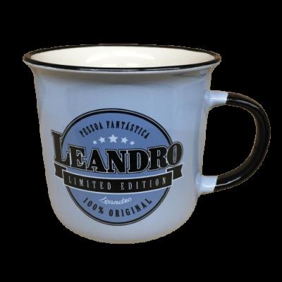 Caneca com nome - Leandro