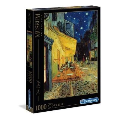 Puzzle Museu 1000 - Van Gogh: Terraço do Café à Noite