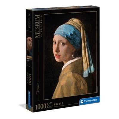 Puzzle Museu 1000 - Vermeer: Rapariga com Brinco de Pérola