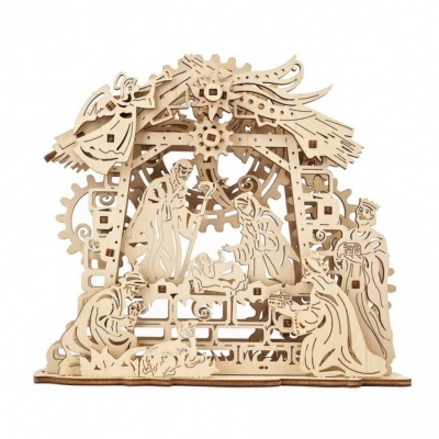 Puzzle 3D - Modelo mecânico Presépio