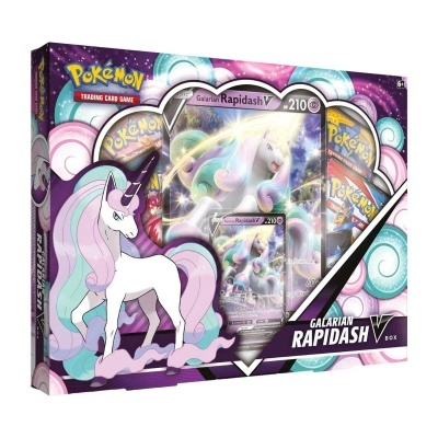 Pokémon TCG: Galarian Rapidash V Box (EN)