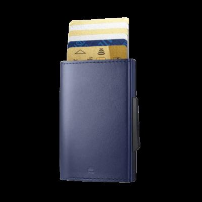 Porta-cartões Ogon Cascade Azul-marinho