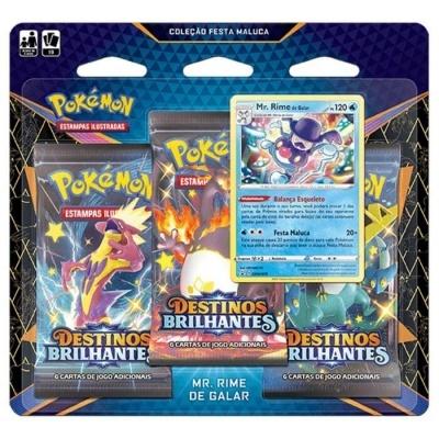 Pokémon TCG: Coleção Festa Maluca de Destinos Brilhantes: Mr. Rime de Galar (PT)